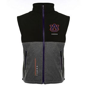 Men's Franchise Club Auburn Tigers Fusion Softshell Vest