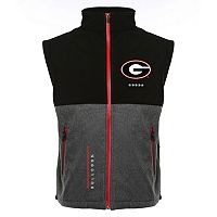 Men's Franchise Club Georgia Bulldogs Fusion Softshell Vest
