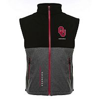 Men's Franchise Club Oklahoma Sooners Fusion Softshell Vest