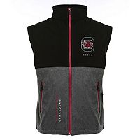 Men's Franchise Club South Carolina Gamecocks Fusion Softshell Vest
