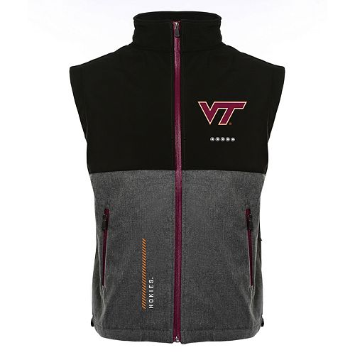 Men's Franchise Club Virginia Tech Hokies Fusion Softshell Vest