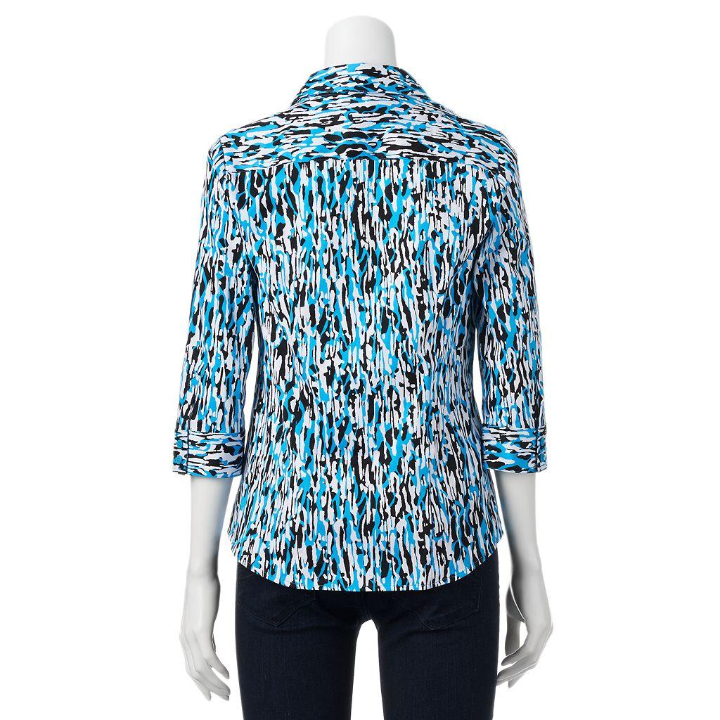 Women's Dana Buchman Sateen Shirt