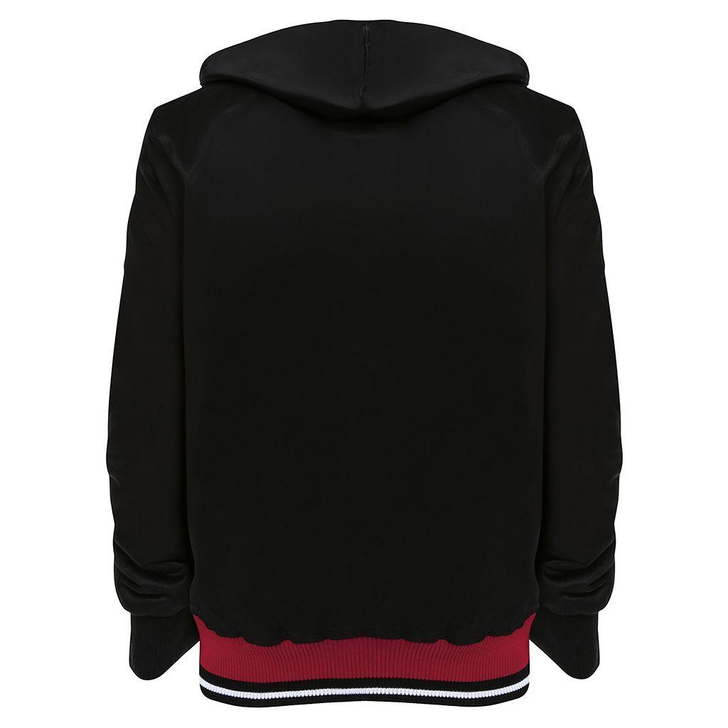 Men's Franchise Club Alabama Crimson Tide Shield Reversible Hooded Jacket
