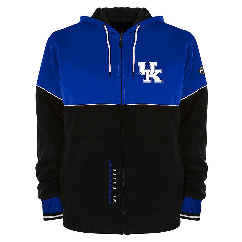 Men's Franchise Club Kentucky Wildcats Shield Reversible Hooded Jacket
