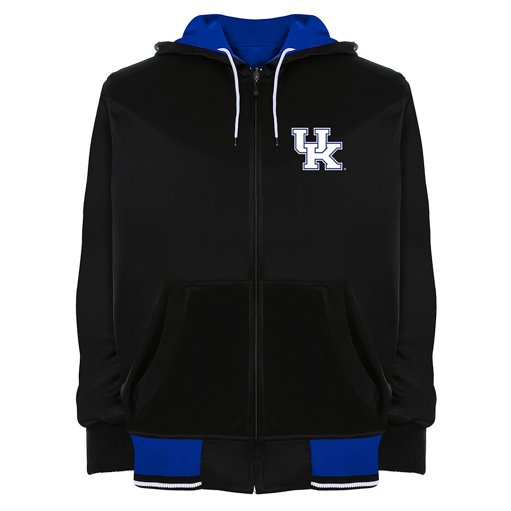 Men's Franchise Club Kentucky Wildcats Shield Reversible Hooded Jacket