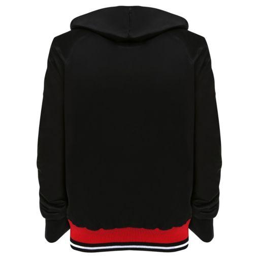 Men's Franchise Club Louisville Cardinals Shield Reversible Hooded Jacket