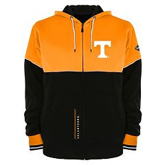 Men's Franchise Club Tennessee Volunteers Shield Reversible Hooded Jacket