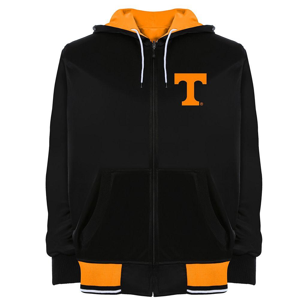 Men's Franchise Club Tennessee Volunteers Shield Reversible Hooded Jacket