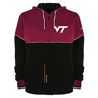 Men's Franchise Club Virginia Tech Hokies Shield Reversible Hooded Jacket