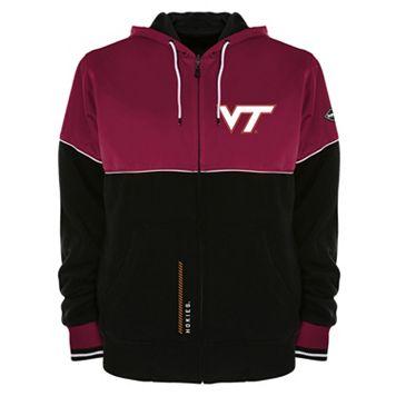 Men's Franchise Club Virginia Tech Hokies Shield Reversible Hooded Jacket