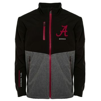 Men's Franchise Club Alabama Crimson Tide Fusion Softshell Jacket