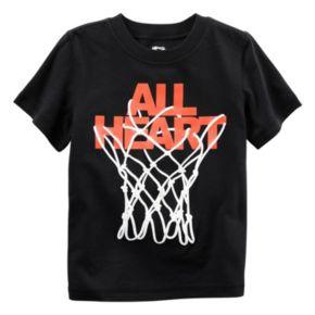 "Boys 4-8 Carter's ""All Heart"" Basketball Graphic Tee"
