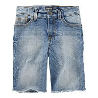 Boys 4-12 OshKosh B'gosh® Sun-Faded Medium Wash Denim Shorts