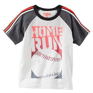 Boys 4-12 OshKosh B'gosh® Raglan Short Sleeve