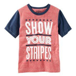 "Boys 4-12 OshKosh B'gosh® ""Show Your Stripes"" Graphic Tee"