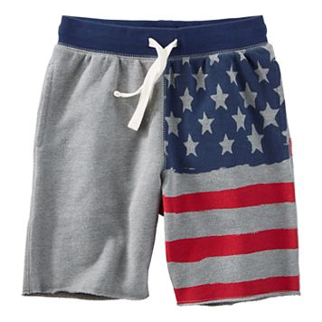 Boys 4-12 OshKosh B'gosh® American Flag Shorts