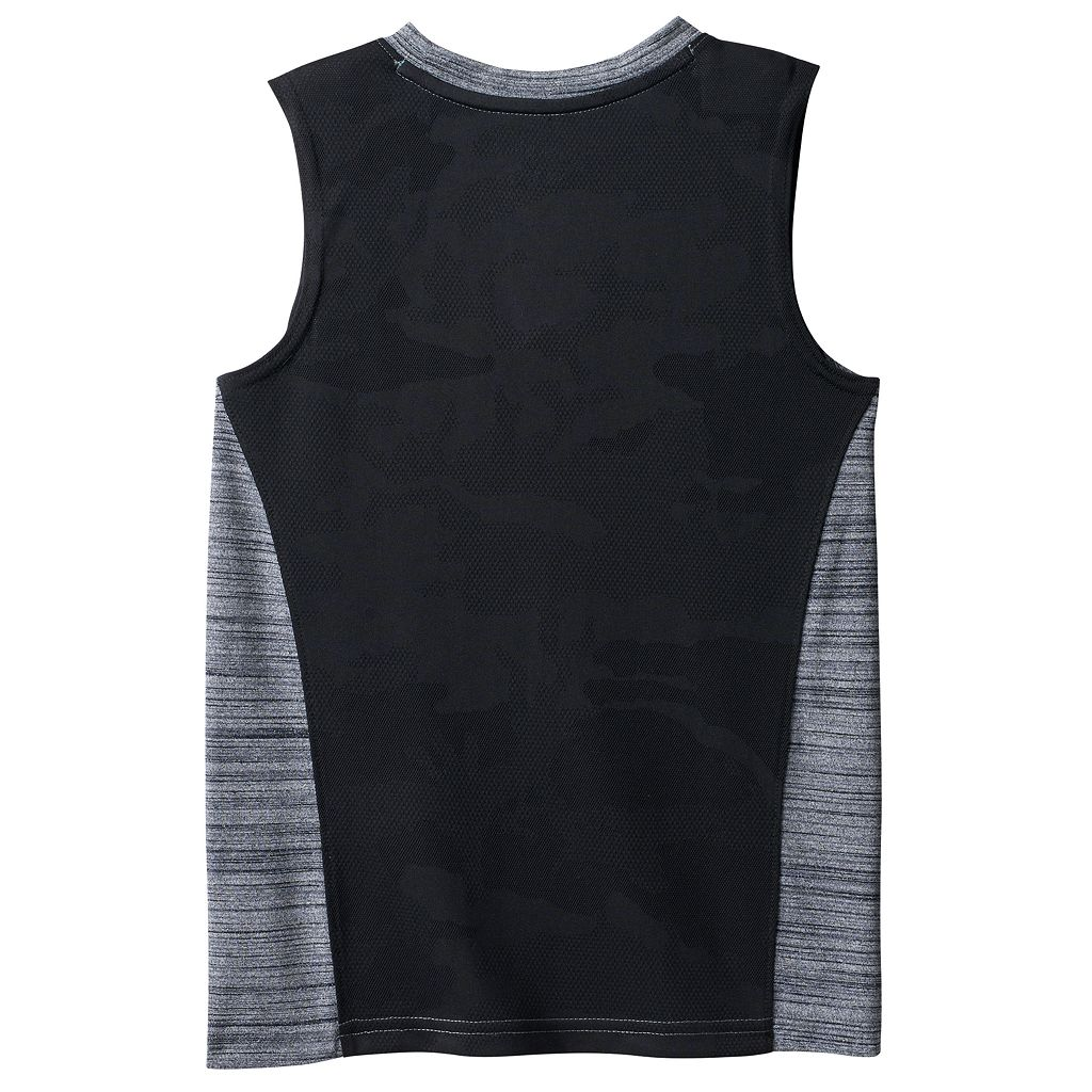 Boys 4-10 Jumping Beans® Playcool Mesh Back Graphic Muscle Tank Top