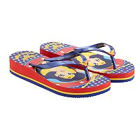 Girls 4-16 DC Super Hero Girls Wonder Woman Flip Flops