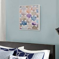 Madison Park Multicolor Geometrics Framed Wall Art