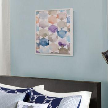 Madison Park Multicolor Geometrics Framed Wall Art