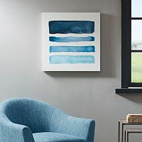 Madison Park Blue Notes Box Wall Art