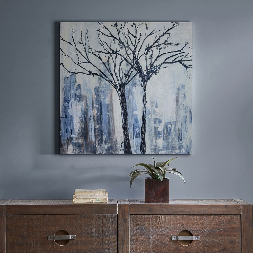 Madison Park Urban Trees Canvas Wall Art