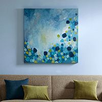 Madison Park Cool Blue Bounce Canvas Wall Art