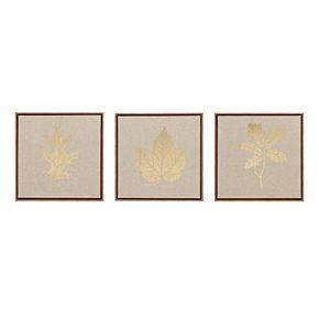 Madison Park Golden Harvest Framed Linen Wall Art 3-piece Set