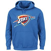 Men's Majestic Oklahoma City Thunder Tek Patch Hoodie