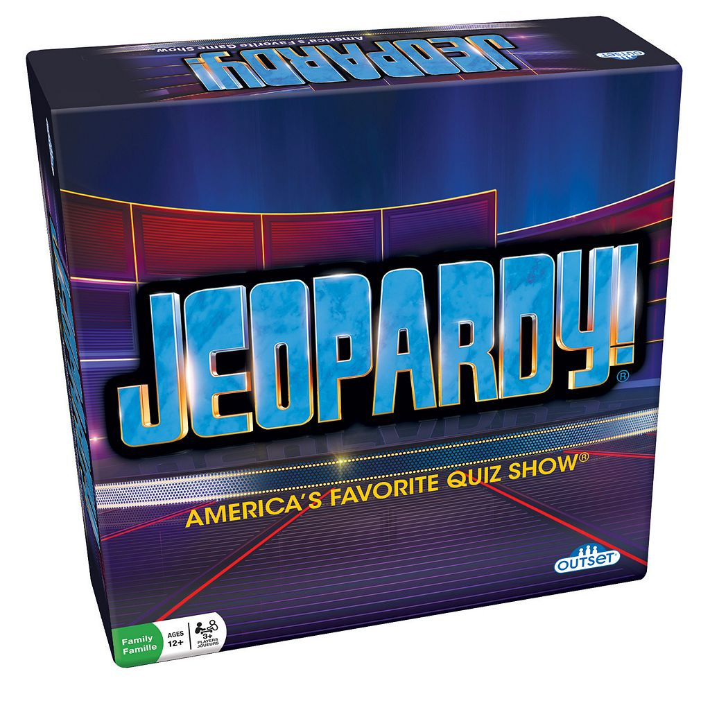 Jeopardy! Board Game by Outset Media