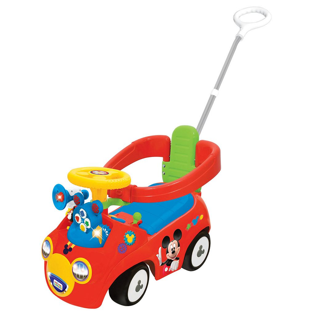 Disney's Mickey Mouse Clubhouse 4-in-1 Activity Ride-On by Kiddieland