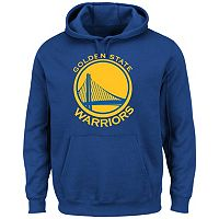 Men's Majestic Golden State Warriors Tek Patch Hoodie