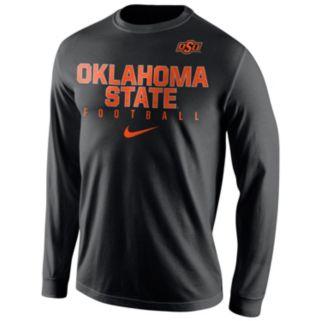 Men's Nike Oklahoma State Cowboys Football Practice Long-Sleeve Tee