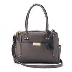 Rosetti Thea Triple-Entry Tassel Satchel