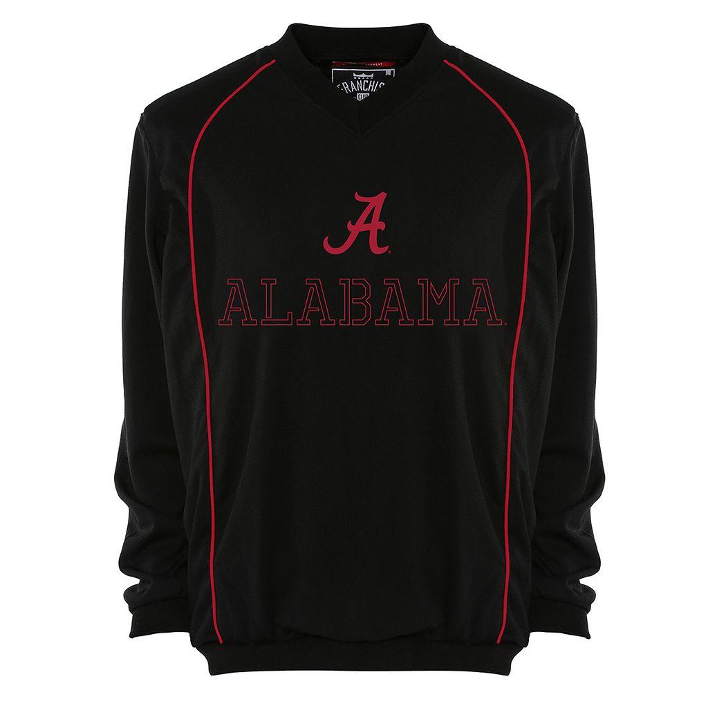 Men's Franchise Club Alabama Crimson Tide Thermatec Pullover