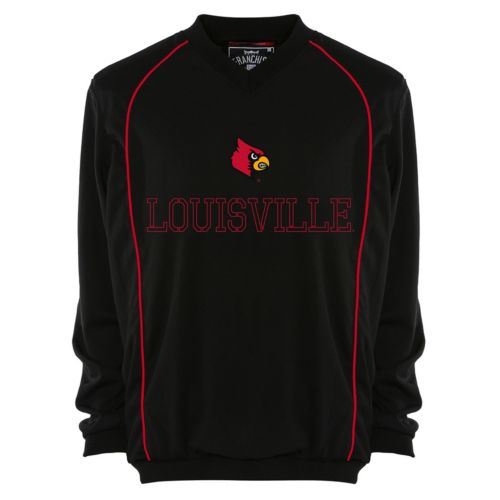 Men's Franchise Club Louisville Cardinals Thermatec Pullover