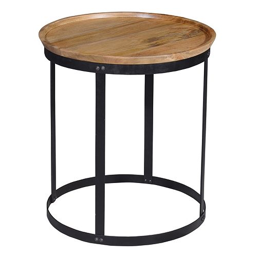 Park Rustic Accent End Table