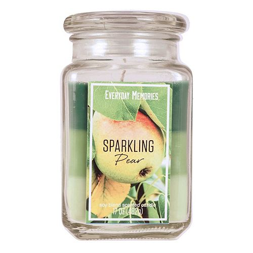 Sparkling Pear 17-oz. Candle Jar