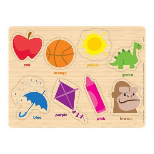 Playskool Wood Puzzle Storage box