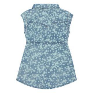 Baby Girl Levi's Flower-Print Denim Dress