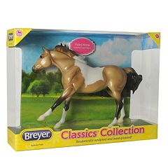 Breyer Classics Buckskin Paint Model Horse