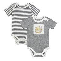 Baby Burt's Bees Baby 2-pk. Organic Fresh Honey Bodysuits