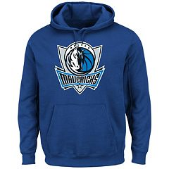 Men's Majestic Dallas Mavericks Tek Patch Hoodie