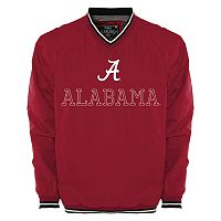 Men's Franchise Club Alabama Crimson Tide Trainer Windshell Pullover