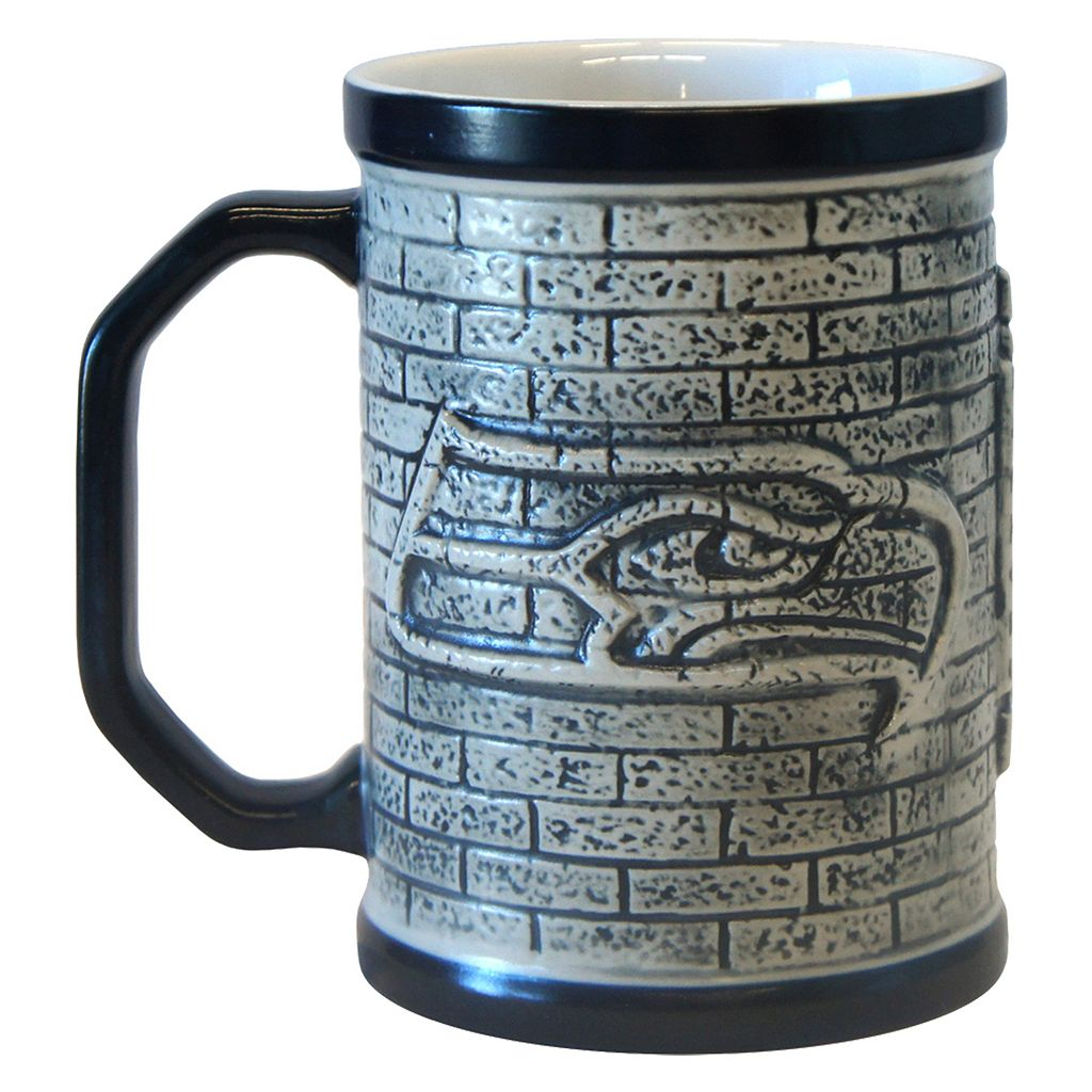 Boelter Seattle Seahawks Stone Coffee Mug