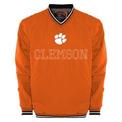 Men's Franchise Club Clemson Tigers Trainer Windshell Pullover