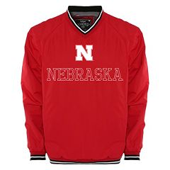 Men's Franchise Club Nebraska Cornhuskers Trainer Windshell Pullover