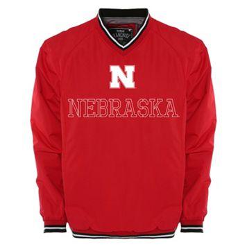 Men's Franchise Club Nebraska Cornhuskers Trainer Windshell Pullover