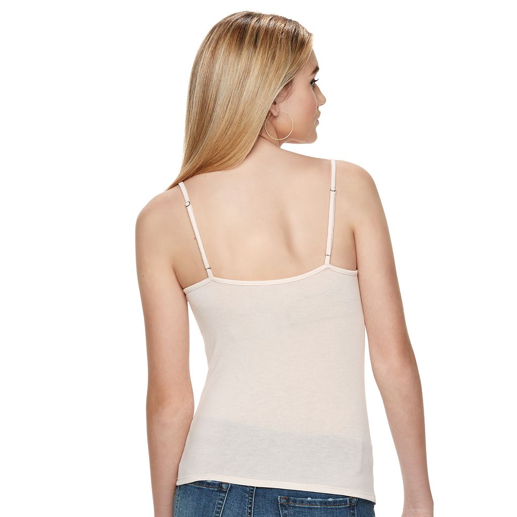 Juniors' Mudd® Lace V-Neck Camisole