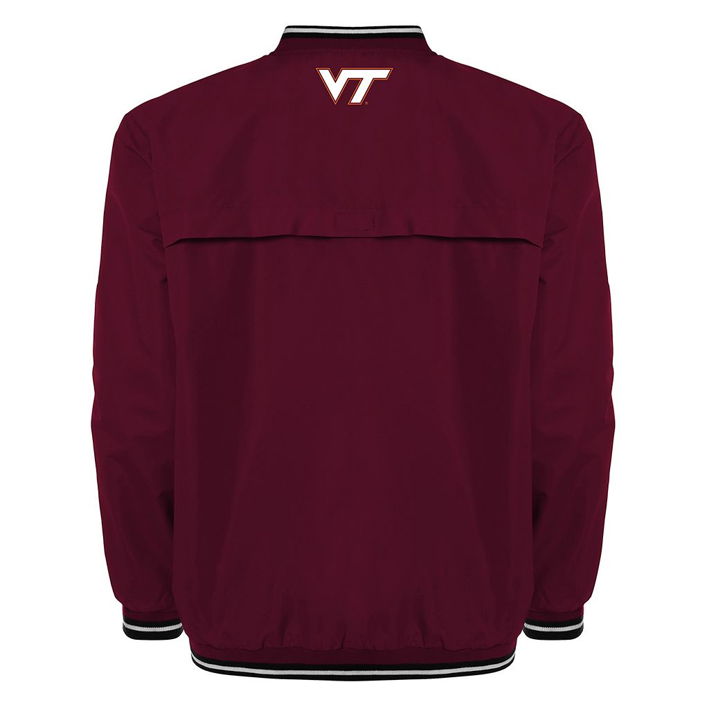 Men's Franchise Club Virginia Tech Hokies Trainer Windshell Pullover